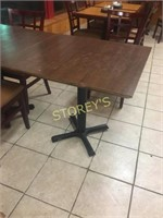 Wood 32 x 30 Dining Table