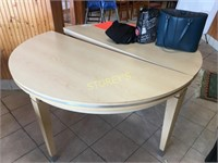5' Round Dining Table or 5' Half Moon Table