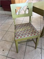 34 x 60 Dining Room Table w/ 4 Chairs
