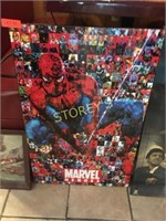 Marvel Heroes Picture - 2' x 3'
