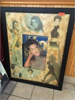 Framed Picture - 39 x 49 - as is