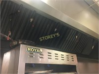 ~18' S/S Exhaust Hood w/ Fire Suppression System