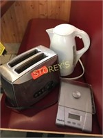 Scale Kettle & Toaster