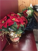 Qty of Faux Flowers