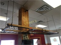 "Hanging Glass Rack ~ 18"" x 8'"