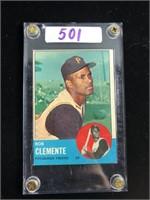 1960s Bob Clemente Baseball Card