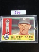 1960s Whitey Ford Baseball Card