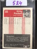 1985 Fleer Kirby Puckett