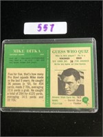1966 Mike Ditka Football Card