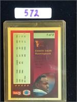 1992 Emmitt Smith Football Card