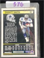 1991 Pinnacle Emmitt Smith Football Card