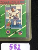 1991 Emmitt Smith Football Card