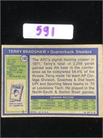 1972 Terry Bradshaw Football Card