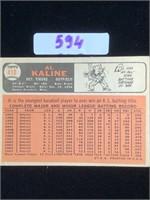 1966 Al Kaline Baseball Card