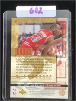 1985 Rookie of  the Year Micheal Jordan Card