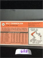 1971 Wilt Chamberlain Basketball Card