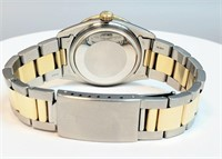 Rolex Two Two Tone Diamond Watch