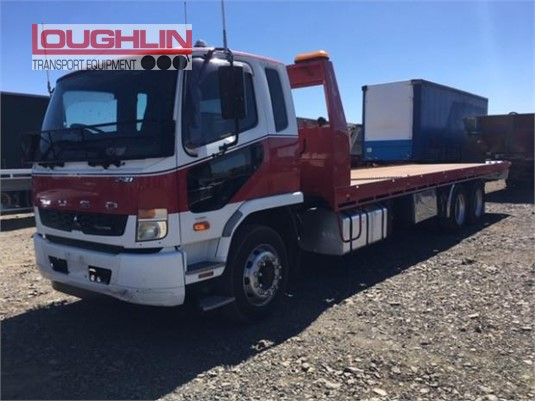 2013 Mitsubishi Fighter FN64F Loughlin Bros Transport Equipment  - Trucks for Sale