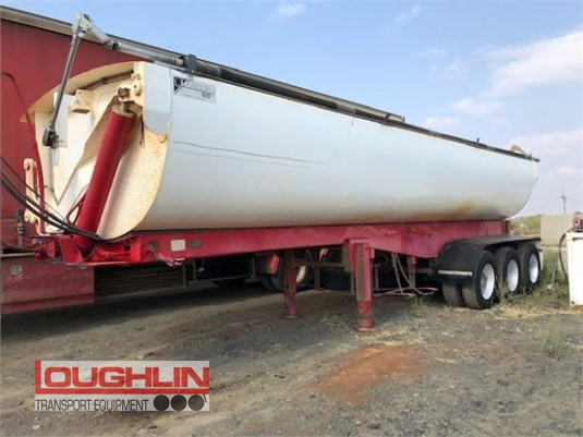 2011 Azmeb Tipper Trailer Loughlin Bros Transport Equipment  - Trailers for Sale