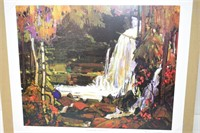 """Group of Seven """"Woodland Waterfalls"""" Print"""