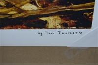 """Group of Seven """"The Canoe"""" Print by Tom Thomson"""