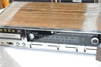 Record Player, Speakers & Radio/8-Track Player