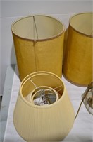 Grp, of Table and Floor Lamps, Hanging Fixtures