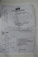 Lavish Home Floating Corner Shelf