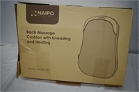 Naipo Back Massage Cushion with Kneading