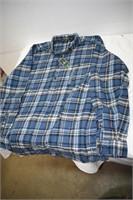G.H. Bass & Co Men's Flannel Shirt Size XLT