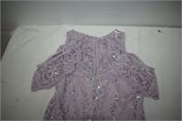 Tianab Lavender Lace Dress Size 4P