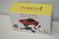 Vroom! Take-Apart Roadster Toy