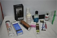 Group of Cosmetic Items, Includes Foot Scrub,