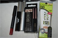 Group of Cosmetic Items, Includes, Shampoo,