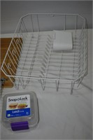 Dish Rack, Beverage Can Dispenser, Cutting Board