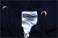 Jerzees Zip Up Hoodie Size Large