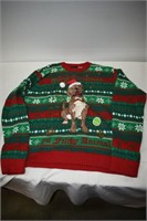 Blizzard Bay Ugly Christmas Sweater Size Large