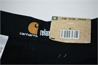 Carhartt Relax Fit Black Pants 34x34