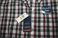 Arrow Wrinkle Free Hamilton Poplin Dress Shirt