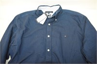 Tommy Hilfiger Custom Fit Dress Shirt Size XL