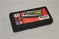 40pc. Ratchet and Socket Set