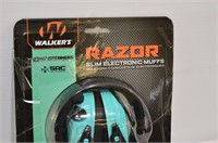 Walkers Slim Razor Electronic Muffs