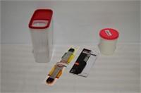 Grp, of Kitchen Items - Corer, Rasp,
