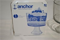 Anchor Hocking Large Trifle Bowl