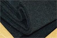 Black Auto Carpet - 5 Yards
