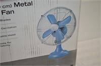 """Sunbeam 12"""" Metal Table Fan"""