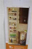 """Closetmaid 18"""" Wall and Door Rack"""