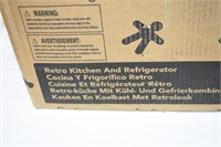 Kid Kraft Retro Kitchen & Refrigerator Set