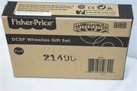 Fisher Price DCSF Wheelies Gift Set