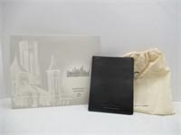 Smithsonian Italian Leather Passport Wallet